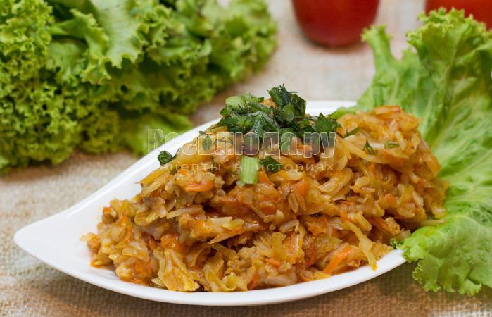 солянка с капусты с рисом