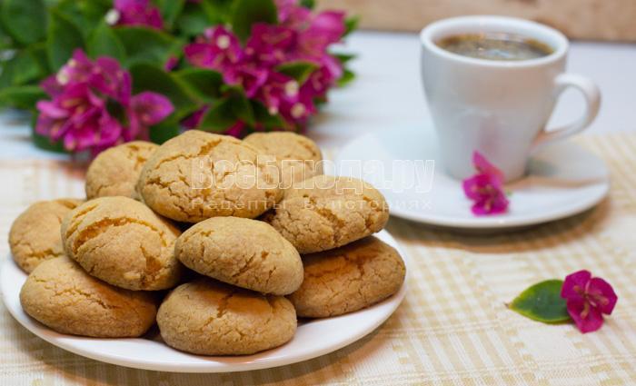 Печенье без яиц на крахмале (очень вкусное и рассыпчатое)