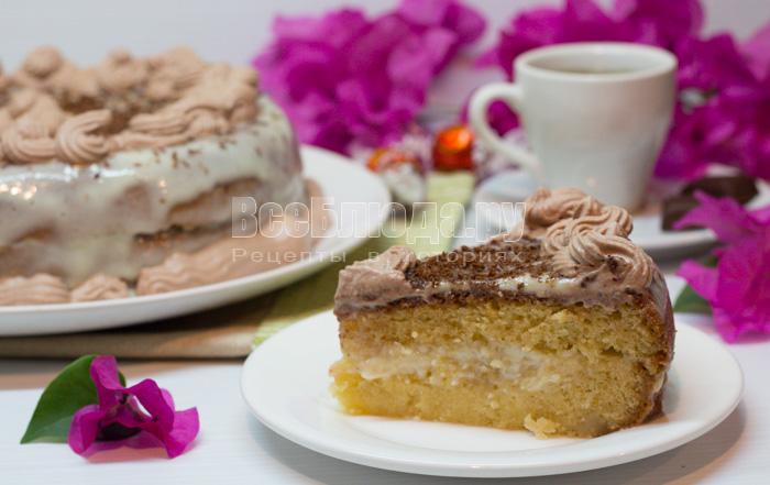 Торт из сухой молочной смеси
