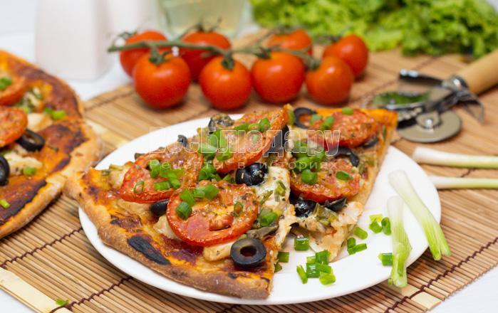 рецепт вкусной пиццы на дрожжевом тесте