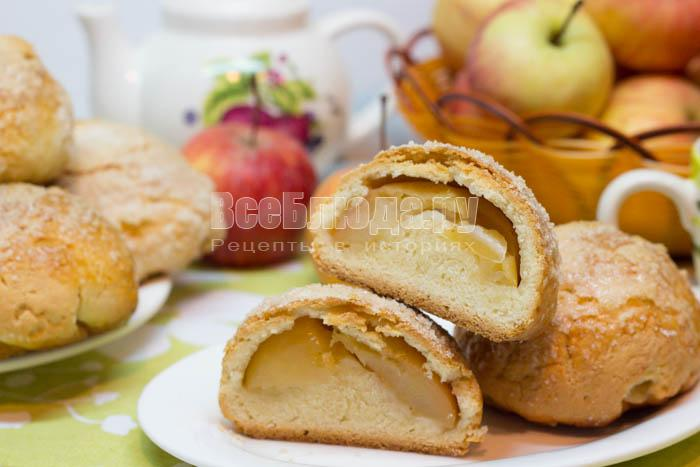 Печенье Румяные щечки с яблоками