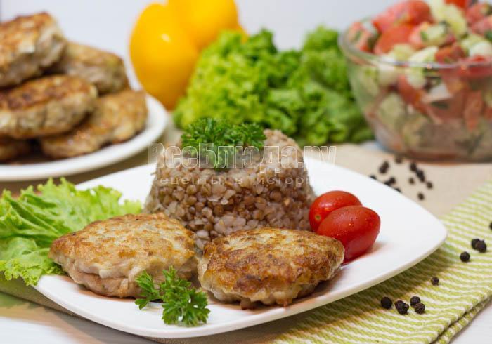 Рецепт котлет из домашнего фарша с кабачком