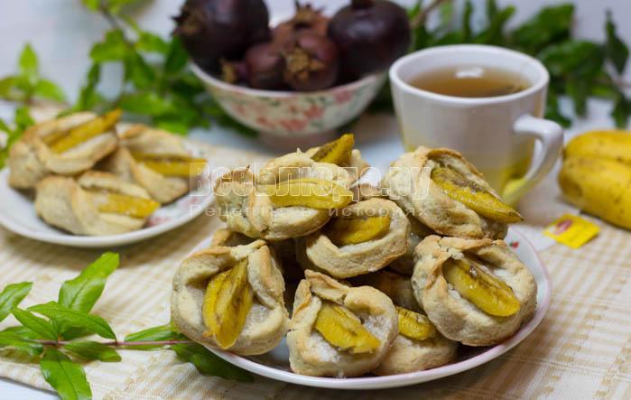 Печенье с бананами - Каллы