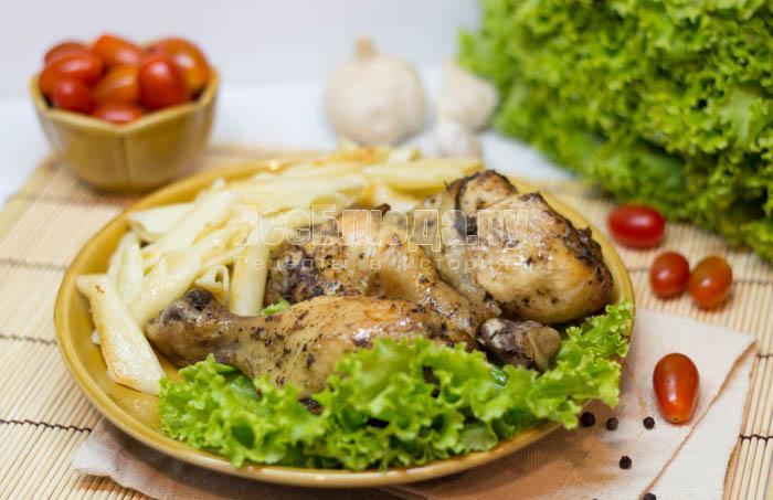 запеченная голень курицы в духовке рецепты