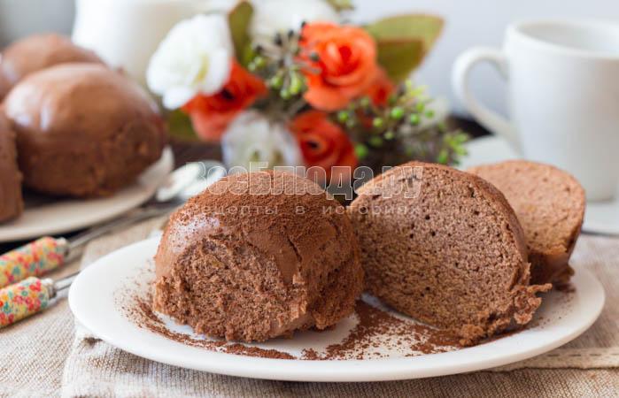 Шоколадные пряники в мультиварке на пару