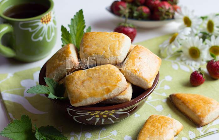Сметанное печенье