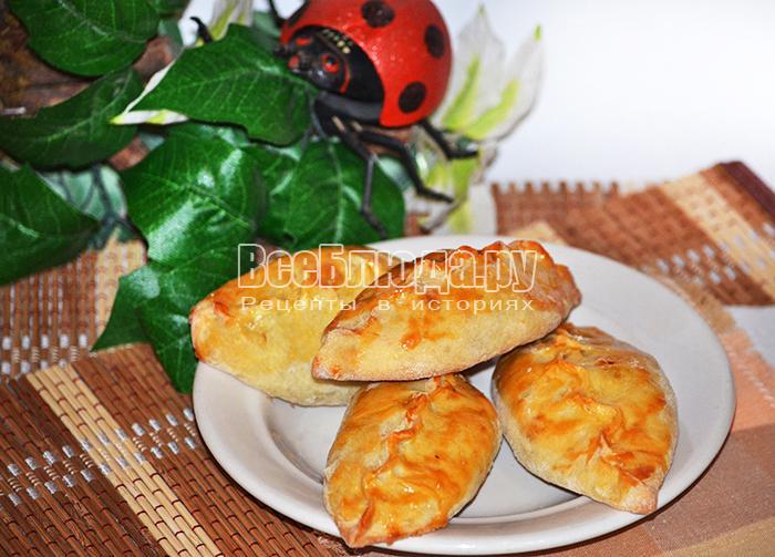 Пирожки с капустой на сыворотке