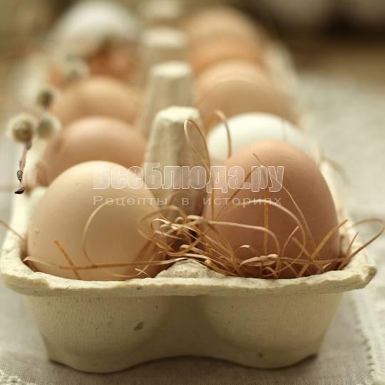 Фермерские яйца в СПб и их применение