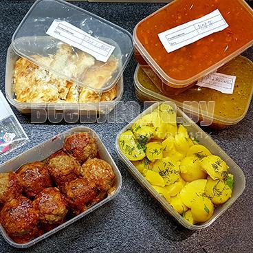 Доставка готовой еды на дом в СПБ