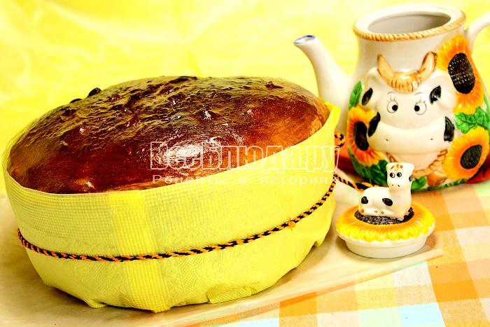 Панеттоне – итальянский сдобный кекс