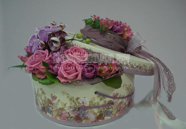 Декорирование цветочных букетов. Флористическая лента и маты
