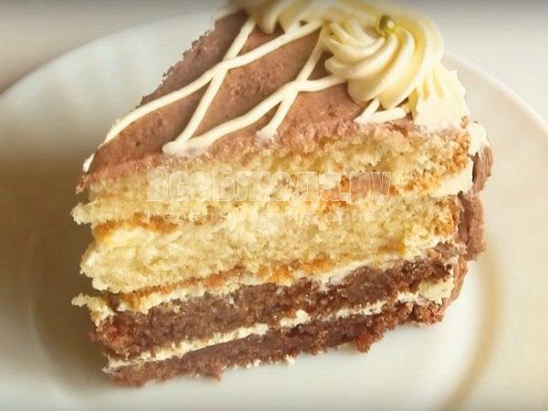 Любимые сладости. Приготовление вкусного тортика