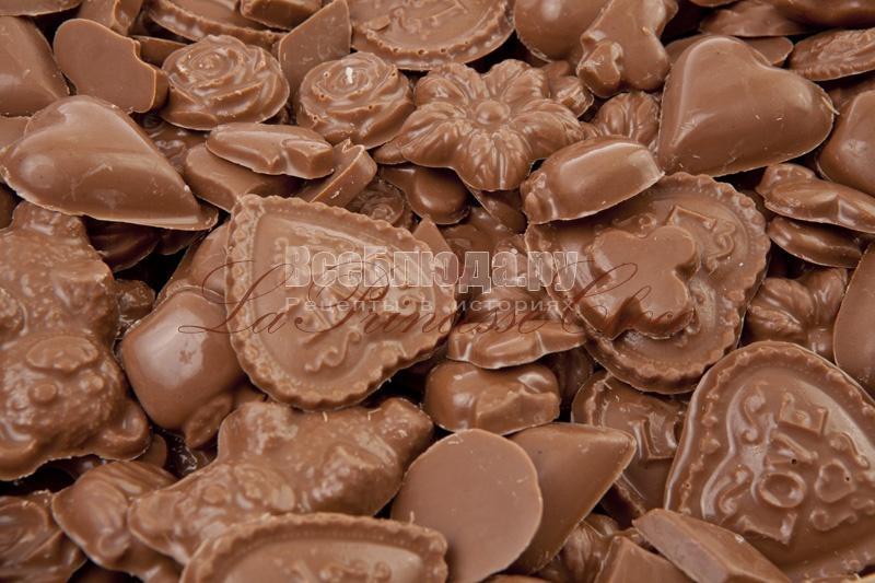 Фигурный шоколад - отличный подарок кому угодно на любой праздник
