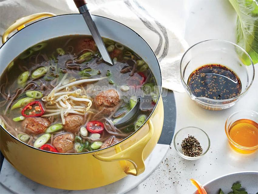 Топ вкусных азиатских супов и их особенности