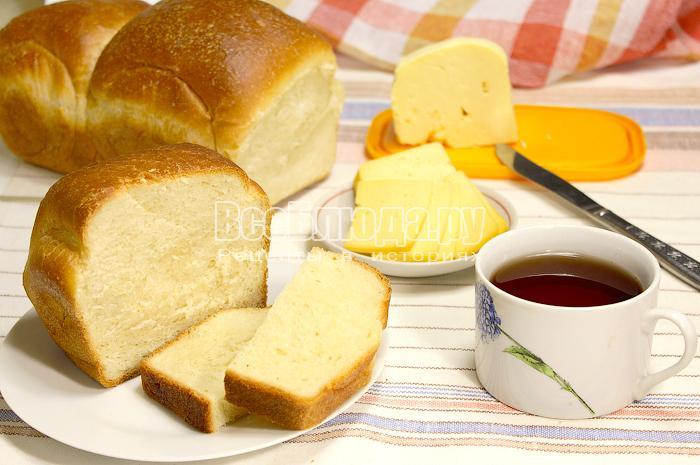 Хлеб на молоке
