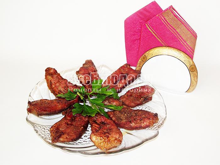 Рецепт мяса, маринованного в красном вине