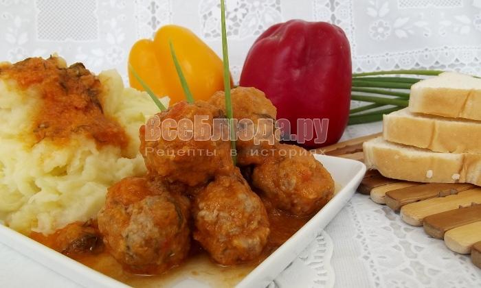 Рецепт фрикаделек в луковом соусе, как вкусно приготовить