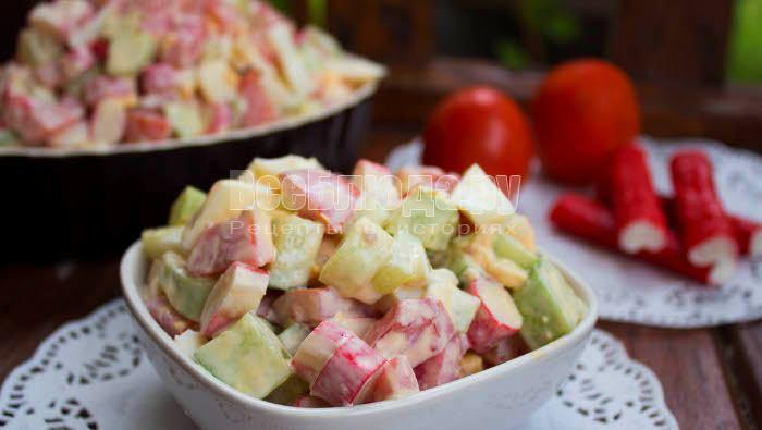 рецепт салата огурец помидор капуста и