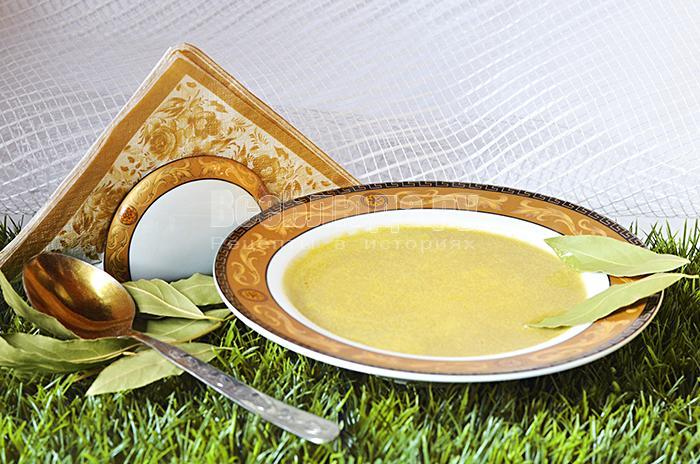 Суп с сыром и грибами в блендере