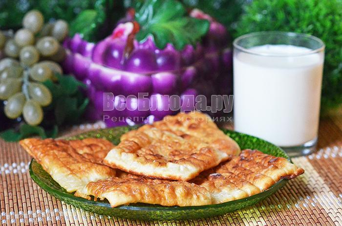 Рецепт пышек (орешек) в молочной глазури