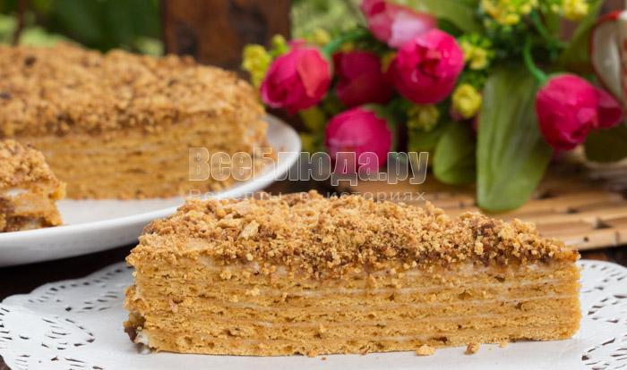 Рецепт торта Медовик, самый вкусный торт