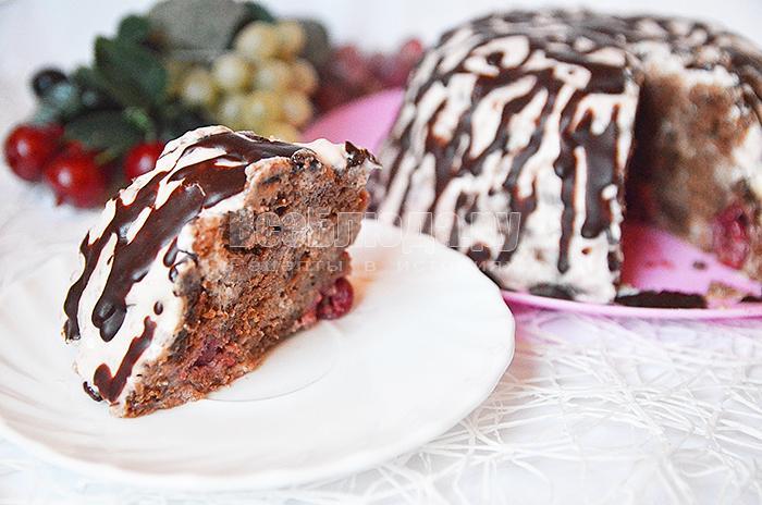 Торт панчо рецепт с пошагово в домашних условиях с вишней