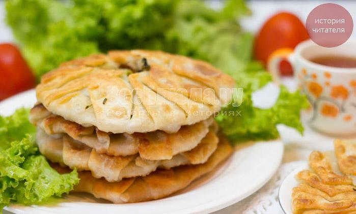 Паланицы (паляницы) - картофельные лепешки - рецепт от бабы Оси