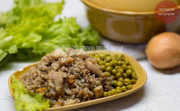 Рецепт гречки с тушенкой (такая вкусная, что украли вместе с кастрюлей)