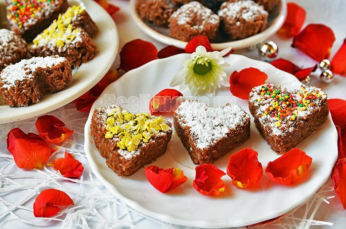 Рецепт конфет из кокосовой стружки с шоколадом