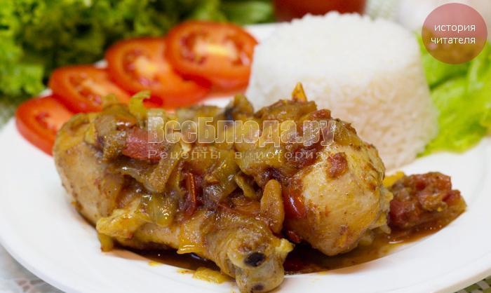 Чахохбили из курицы - вкусная, семейная традиция