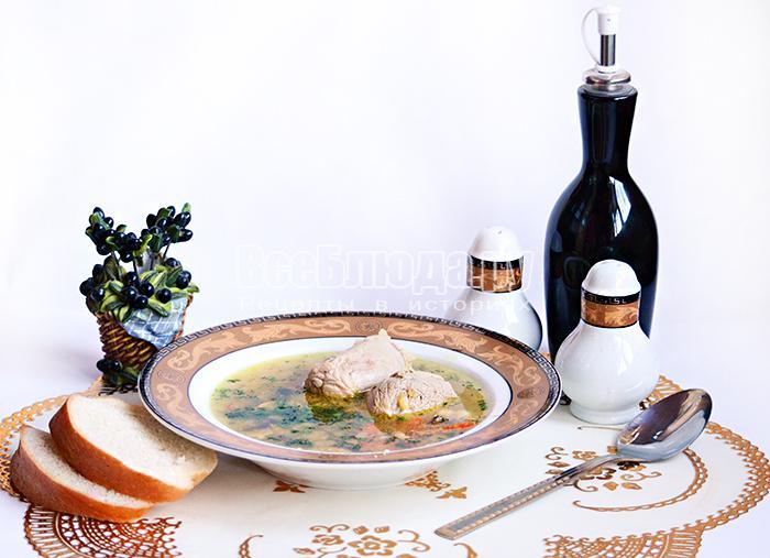 рецепт супа с грибами свежими рецепт