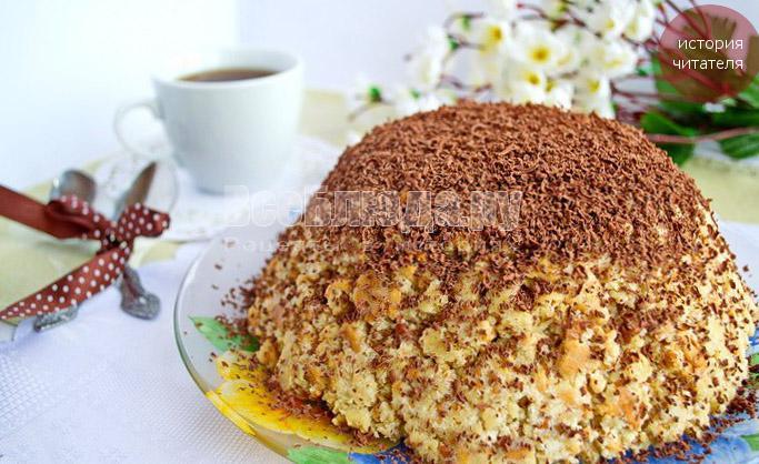 Торт Муравейник из песочного теста