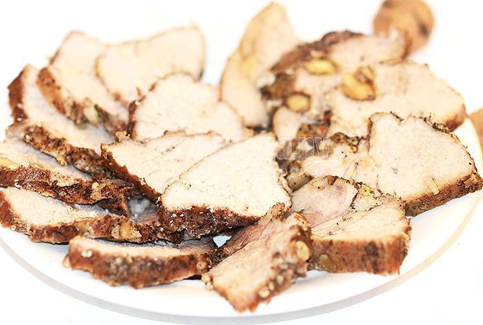 рецепт карбоната из свинины в духовке, фото