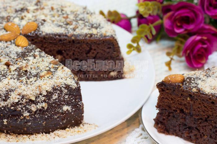 рецепт простого шоколадного торта