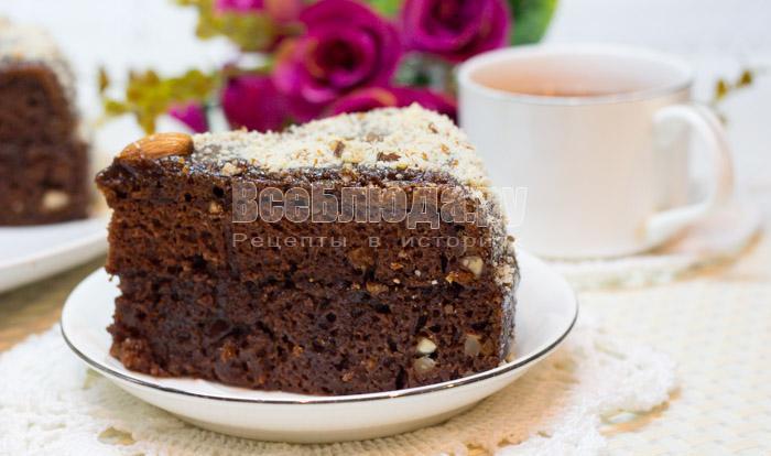 как приготовить самый простой шоколадный торт