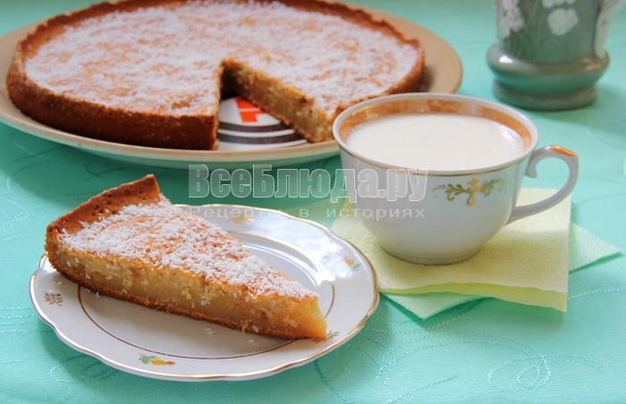 пирог на кефиер к потреблению готов! :)