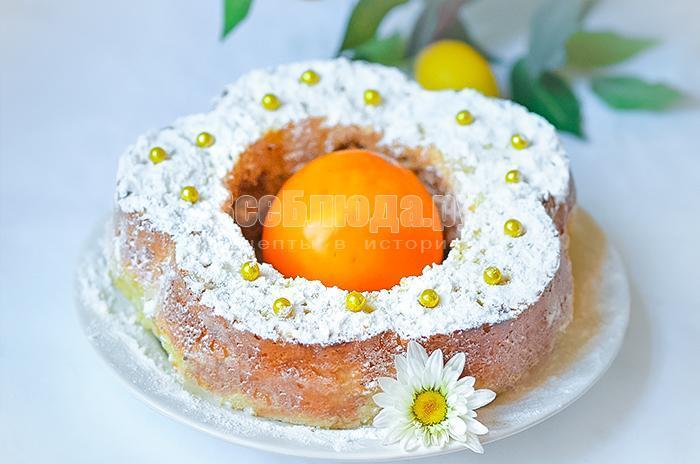 как приготовить вкусный пирог с хурмой