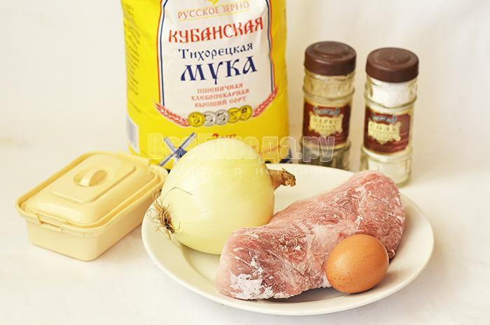 необходимые ингредиенты для домашней лапши: