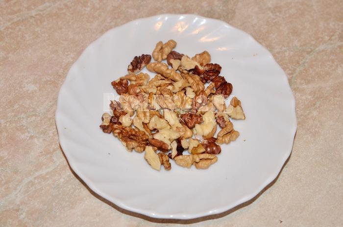 подготовьте орехи
