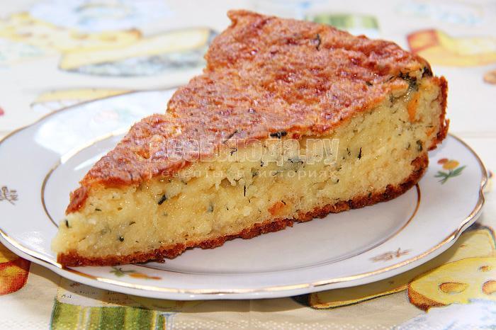 рецепт сырно творожного пирога