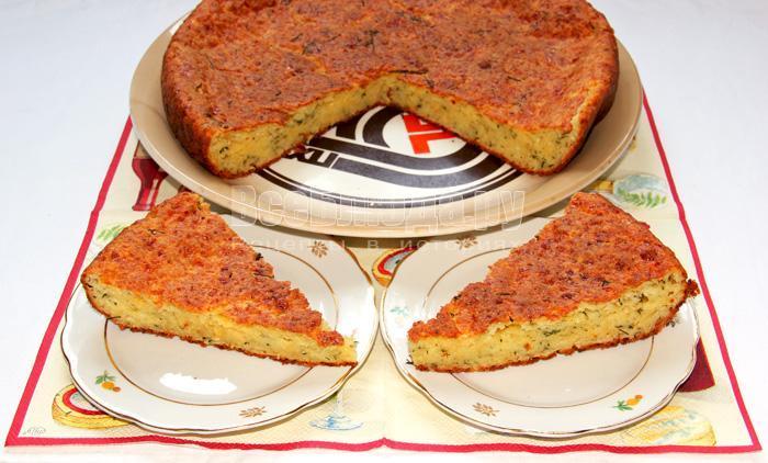 как приготовить пирог с сыром и творогом