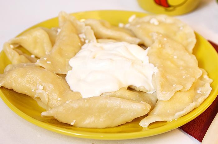вареники с сыром