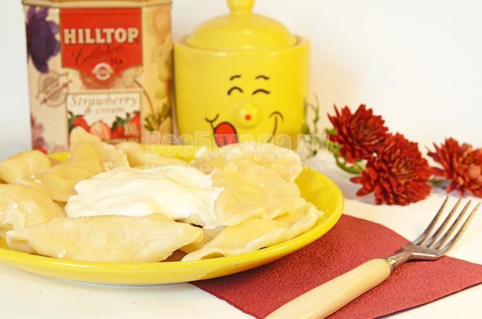 вкусные сырные вареники рецепт с фото