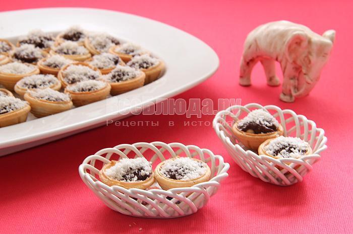 рецепт конфет с орехами