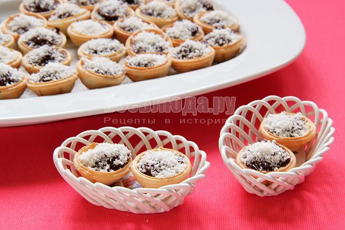 вкусные конфеты с орехами в шоколадной глазури