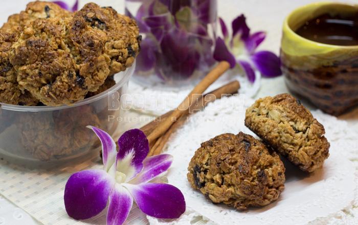 диетическое геркулесовое печенье