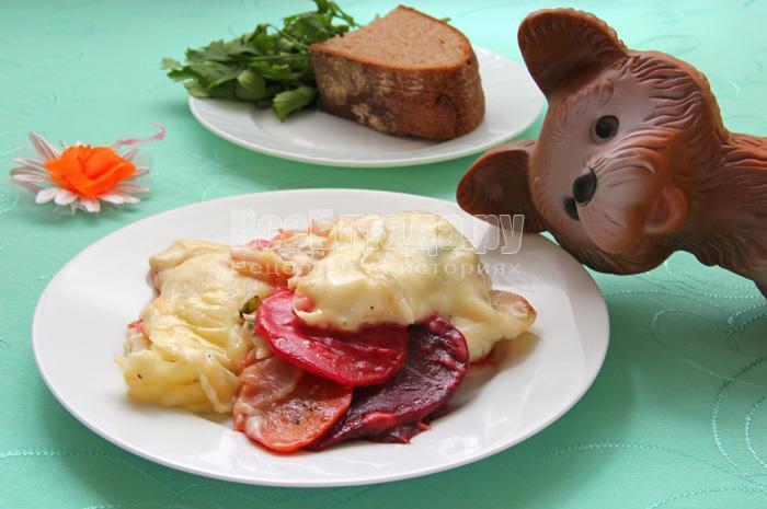 мягкие овощи под кремоммммм