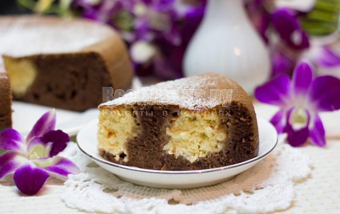 как приготовить пирог с кефиром и творогом
