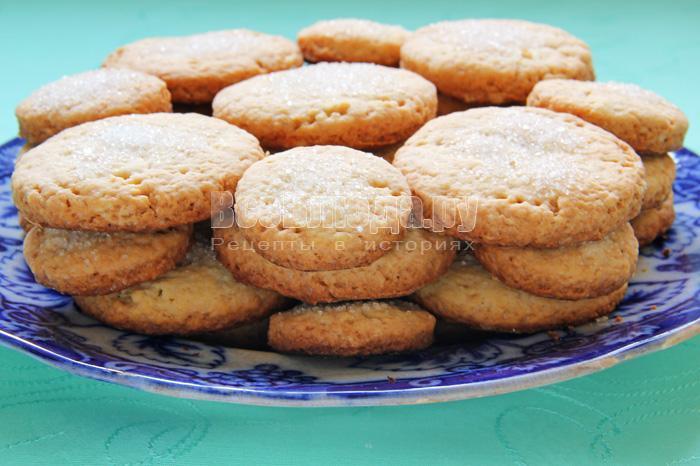 рецепт рассыпчатого печенья на водке