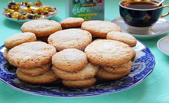 как приготовить печенье на водке